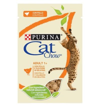 Purina Cat Chow Adultos Húmidos c/ Frango 85gr