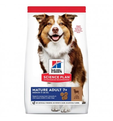 Hill's Science Plan Canine Mature Adult 7+ Medium 3kg