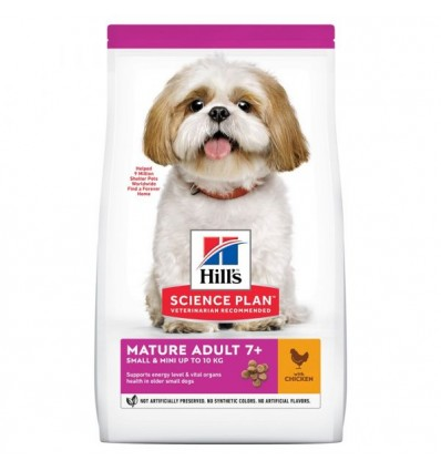 Hill's Science Plan Canine Small e Mini Mature 3kg