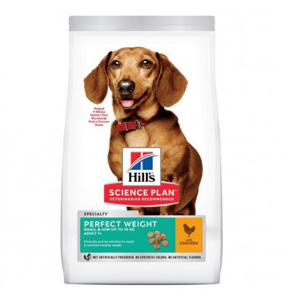 Hill's Science Plan Canine Adult Perfect Weight Mini 6kg