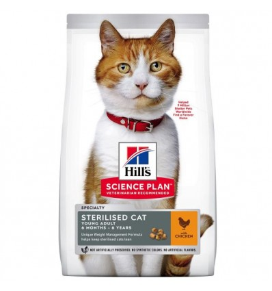 Science Plan Feline Sterilised Cat Young Adult 8kg