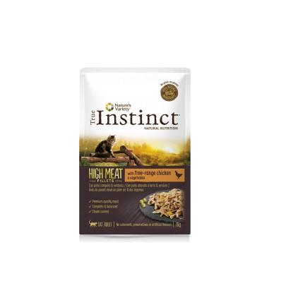 Instinct Cat High Meat Adulto Frango 1kg