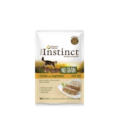 True Instinct Gato húmidos High Meat Fillets Adulto Vaca e Vegetais
