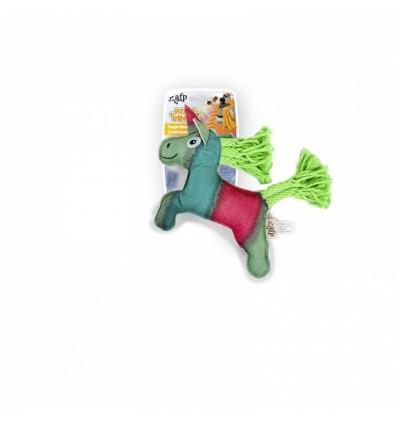Brinquedo AFP Peluche p/ Cão c/ Corda Dental Ovelha (31 cm)