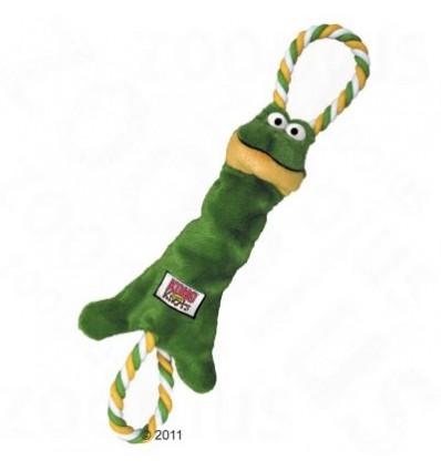 Brinquedo Kong Peluche Tugger Knots Sapo - Small/ Medium (26cm)
