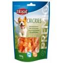 Ossos Cálcio Trixie p/ Cão c/ Filetes Peito Frango 100gr.