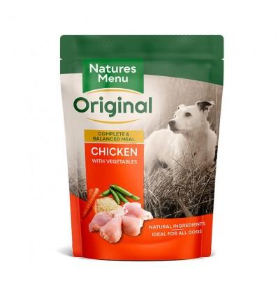 Natures Menu Cão Húmidos c/ Frango e Vegetais Saqueta 300g