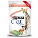 Purina Cat Chow Adultos Húmidos c/ Salmão