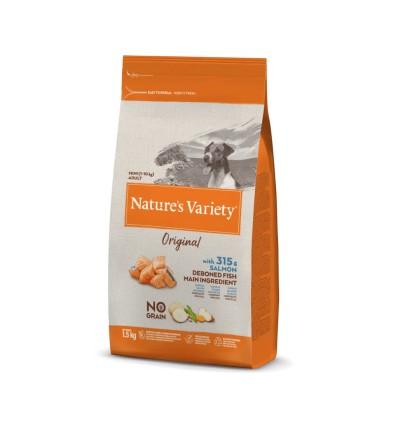 Nature's Variety Selected Mini Salmão da Noruega