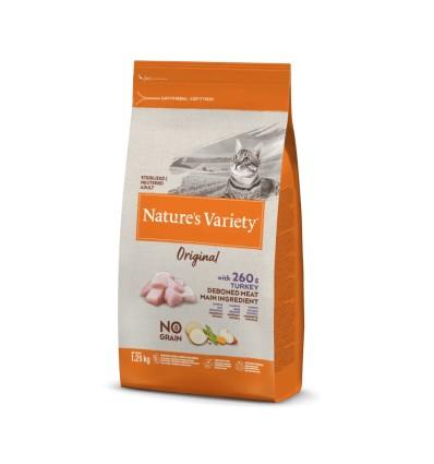Nature's Variety Original Gato Sterilised Sem Cereais Peru