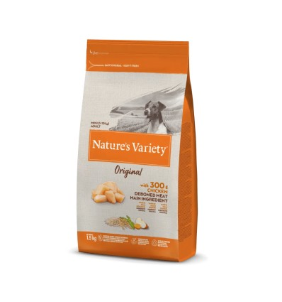 Nature's Variety Original Cão Mini Adulto Frango